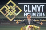 Thai Prime Minister Prayut Chan-ocha delivers the keynote address at the first ever CLMVT Forum on 16 June 2016 (Photo: Bangkok Post)