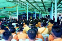 Delegates representing Burma's ethnic groups attend the Ethnic Youth Conference in Panlong, Shan State, on 27 July 2016. (Photo: DVB)