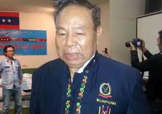 Gen. N'Ban La of the Kachin Independence Army will head a senior ethnic delegation to Rangoon for talks with Aung San Suu Kyi next week. (PHOTO: DVB)