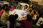 Representatives of Burmese women's groups consult in Rangoon ahead of the CEDAW conference in Geneva, Switzerland, which began on 4 July 2016. (PHOTO: WLB)