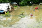 Flooding has affected more than 170,000 people in Burma so far this year, according to the government's Relief and Resettlement Department. (Photo: DVB)