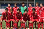 The Burmese women's football team poses after winning third place in the 2016 ASEAN Football Federation Women's Championship on 4 August 2016. (Photo: Myanmar Football Federation)