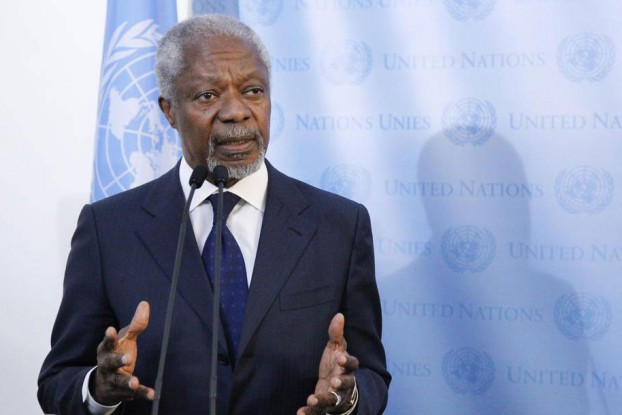 Former UN Secretary General Kofi Annan has been tasked with leading a commission to address human rights abuses and other issues in Arakan State. (Photo: The United Nations)