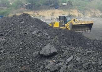 Coal mining operations at Nam Ma in Shan State has been linked to a recent army offensive in the area. (Photo: SHRF)