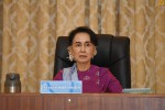 Recent photograph of Burma's State Counsellor Aung San Suu Kyi (PHOTO: Myanmar State Counsellor's Office)