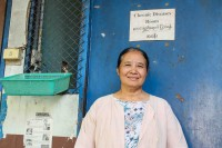 Dr. Cynthia Maung, founder of the Mae Tao Clinic, is one of many women who have played key leadership roles in conflict-hit communities along Burma's borders. (Photo: Libby Hogan / DVB)