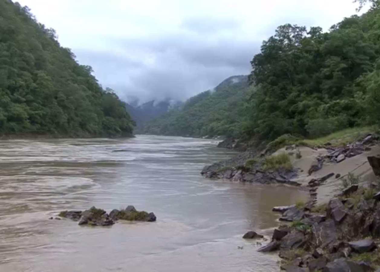 There are plans to build six hydropwer dams on the Salween River. (Photo: DVB)