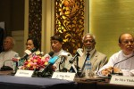Former UN chief Kofi Annan, second from right, attends a press conference with other members of the Arakan State Advisory Commission in Rangoon on 8 September 2016. (Photo: Libby Hogan / DVB)