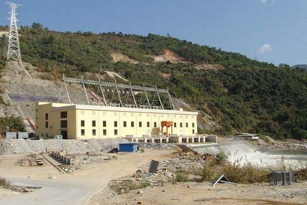 The Chinese-backed Shweli 1 Dam, built on the Shweli River in northern Shan State, was completed in 2008. Most of the electricity generated here is sold to China. (Photo: Wikimedia)
