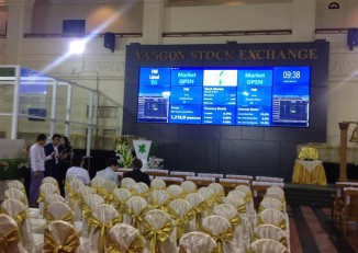 None of the companies listed on the Yangon Stock Exchange have produced significant statements of the shareholder risks they face. (Photo: DVB)