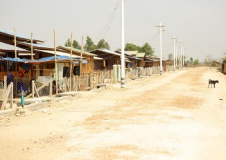 The poor quality of relocation sites for villagers displaced by the Thilawa SEZ is a major concern for local people. (Photo: Thilawa Watch)
