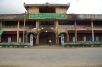 The market in Maungdaw was shuttered on Monday after a series of attacks on 9 October 2016 left nine police officers dead and five others wounded. (Photo: DVB)