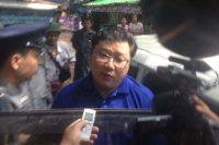 Myo Yan Naung Thein appears in police custody on 4 November 2016. (Photo: Myo Yan Naung Thein / Facebook)