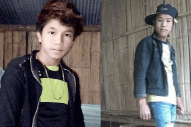 Missing, presumed dead: Maung Oo, 15, and Dawdaw, 16. (PHOTO: supplied to DVB)