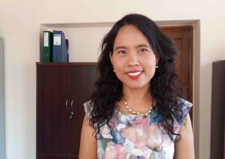 Nutritionist Dr Khin Mar Cho. (PHOTO: Libby Hogan/DVB)