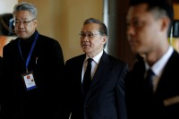 Thai Foreign Minister Don Pramudwinai arrives to attend the ASEAN foreign ministers' meeting on the Rohingya issue at Sedona Hotel in Rangoon on 19 December. (Photo: Reuters)
