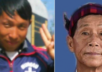 Langjaw Gam Seng (L) and Dumdaw Nawng Lat (R) have been missing since 24 December, 2016. (PHOTO: KBC)