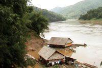 A scene on the Salween River. (PHOTO: DVB)