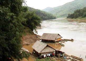 A scene on the Salween River. (PHOTO: DVB)