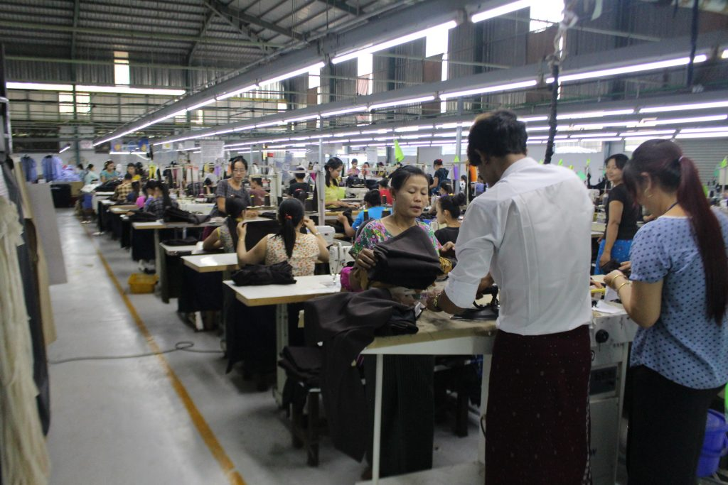 Workers are subject to long hours in the garment industry. (Photo: Libby Hogan / DVB)