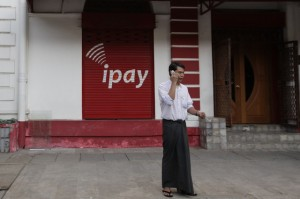 Calls are cheap, but SIM cards can cost a pretty penny in Burma. (Reuters)