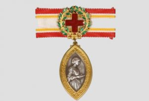 The Florence Nightingale Medal.
