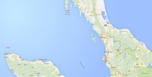 The Malaysian state of Perlis [red]. Mass graves were discovered close to the Thai border.