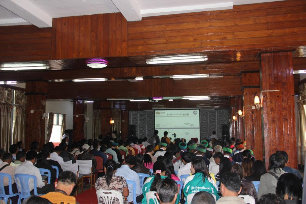More than 175 people turned out to the first SMEC public consultation meeting on 10 March 2015. (PHOTO: Mong Ton Hydropower Project).